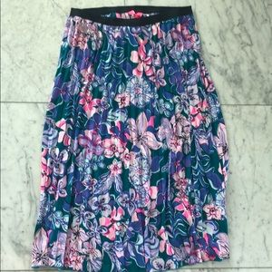 Lilly Pulitzer Midi skirt floral M